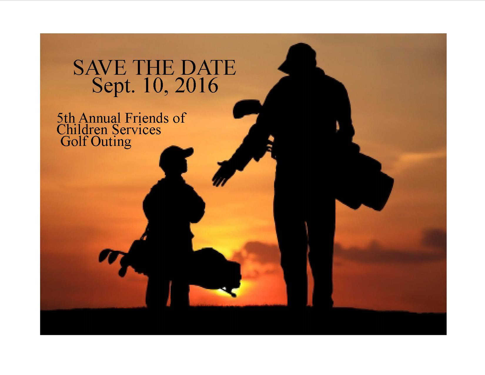 2016 Save the date sign