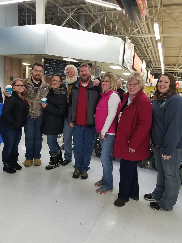 2017 CSB Volunteers for Shop with a Cop
